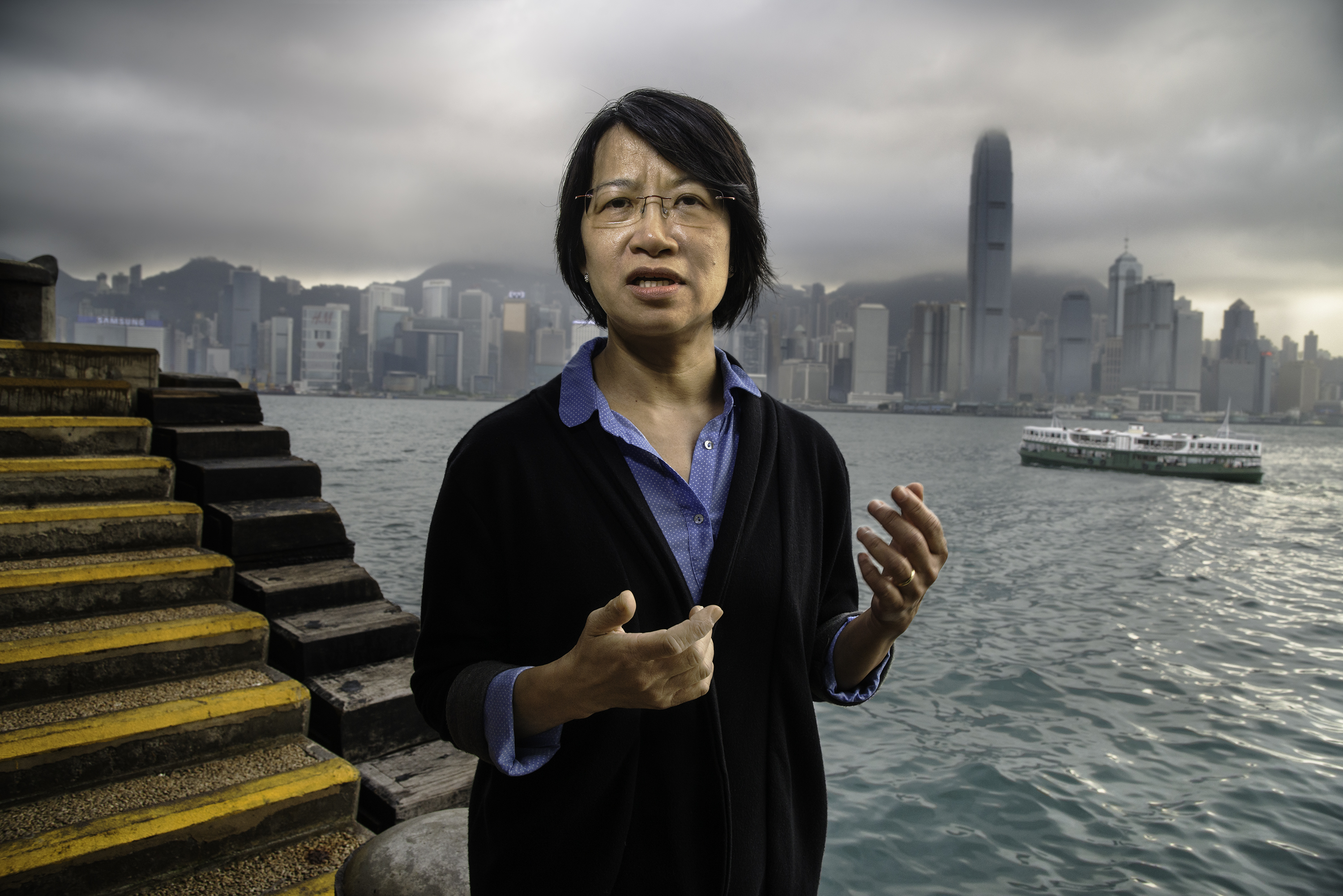 Elizabeth Tang, 58, domestic workers' rights activist in Hong Kong